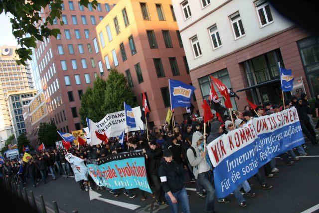 Demonstration gegen die IMK